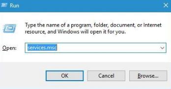 Service Registration is Missing or Corrupt Windows 10