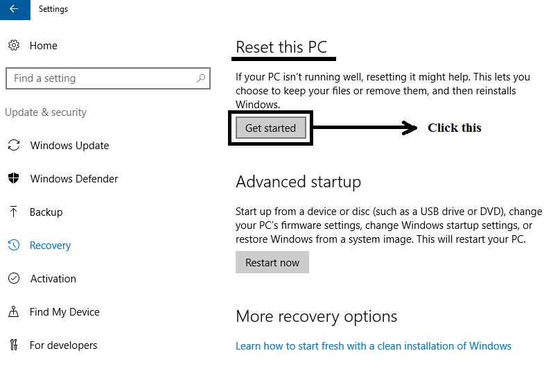 troubleshoot faulty hardware corrupted page windows 10