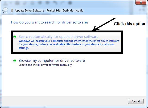 update realtek audio drivers windows 10