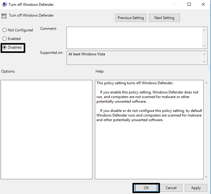msmpeng exe high disk usage