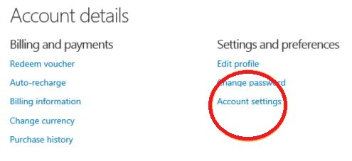 how to deactivate skype account