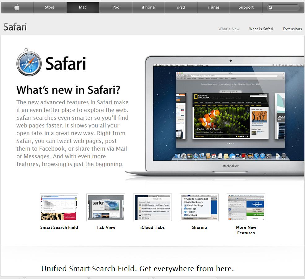 Download safari