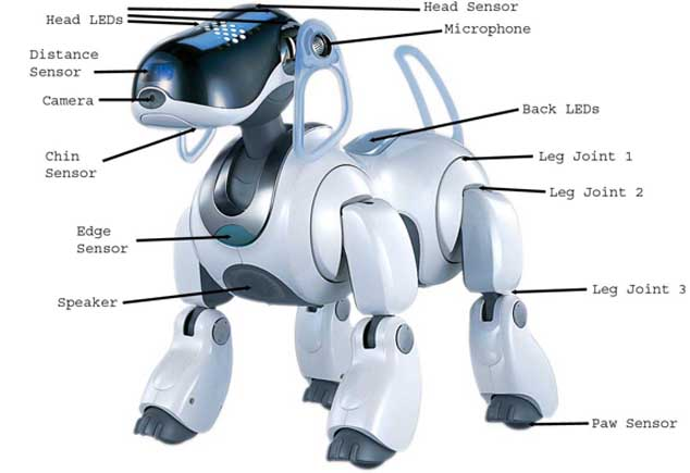aibo robot dog features
