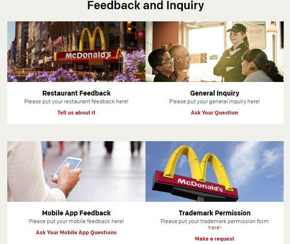 Feedback inquiry