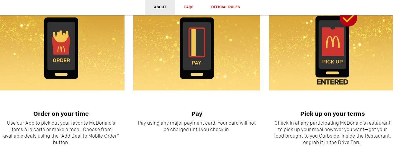 McDonald Gold card