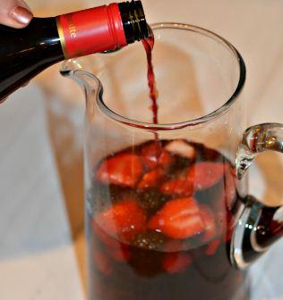 Olive garden wine drink
