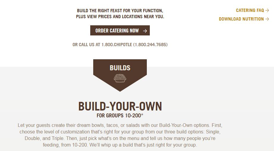chipotle catering