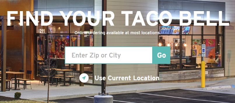 taco bell location