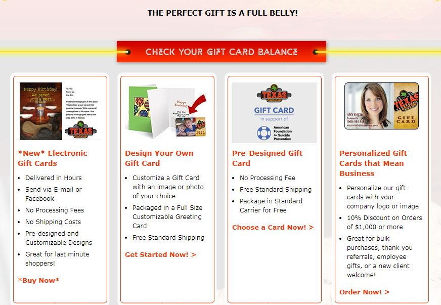 texas gift cards
