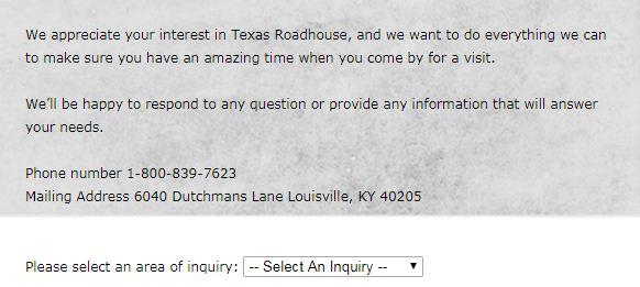 texas inquiry