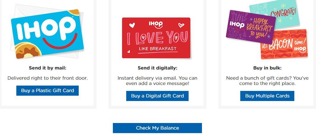 IHOP Gift Cards
