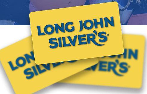 Long john silver gift cards