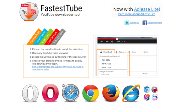 Fastest Tube