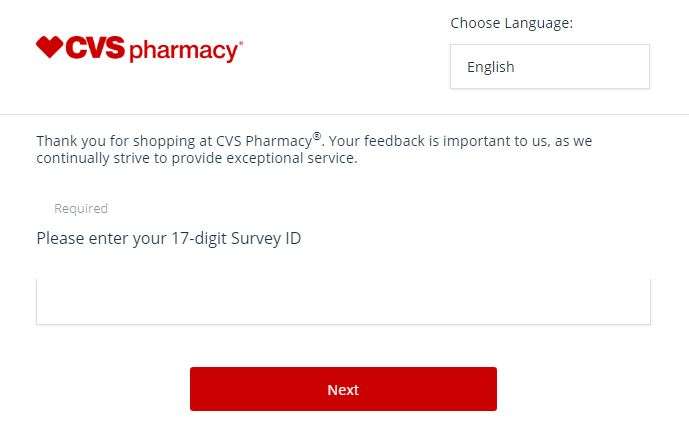 cvs pharmacy survey