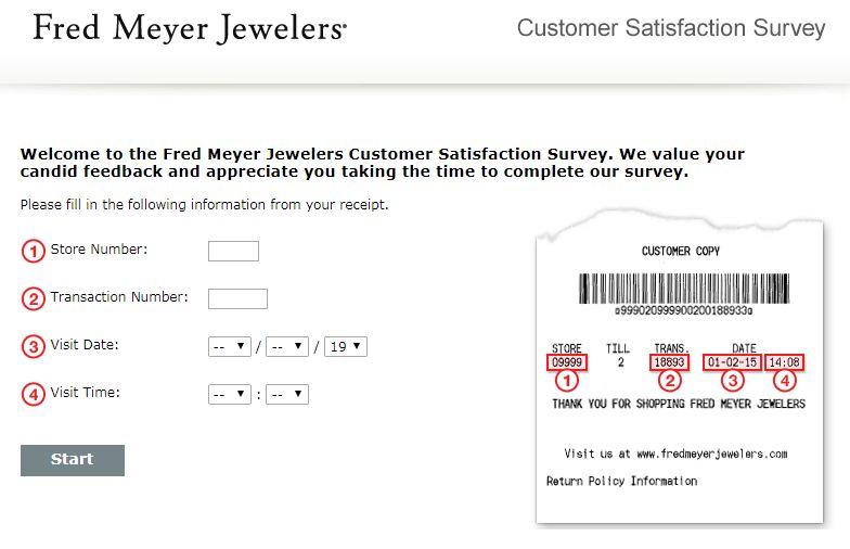 Fred Meyer Jewelers Survey