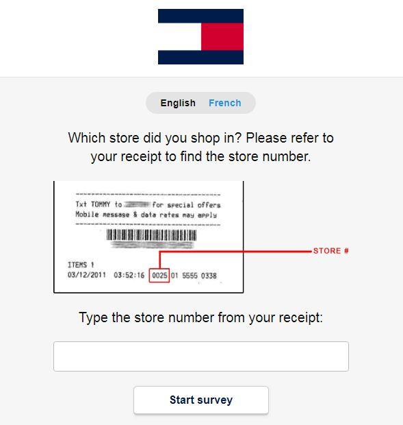 tommy hilfiger survey
