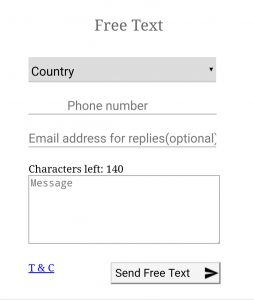 Open Texting Online