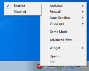 Disable your anti-virus software or firewall
