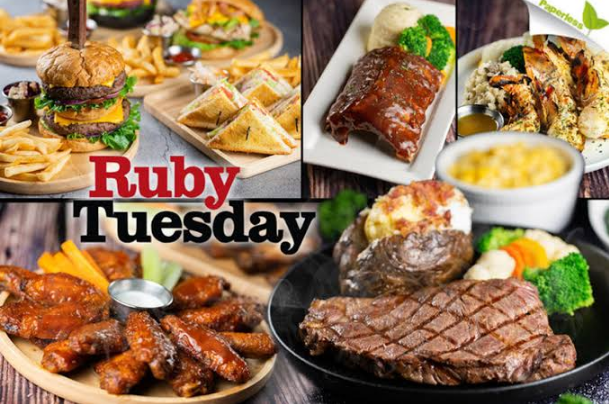 Ruby Tuesday Menu With Prices