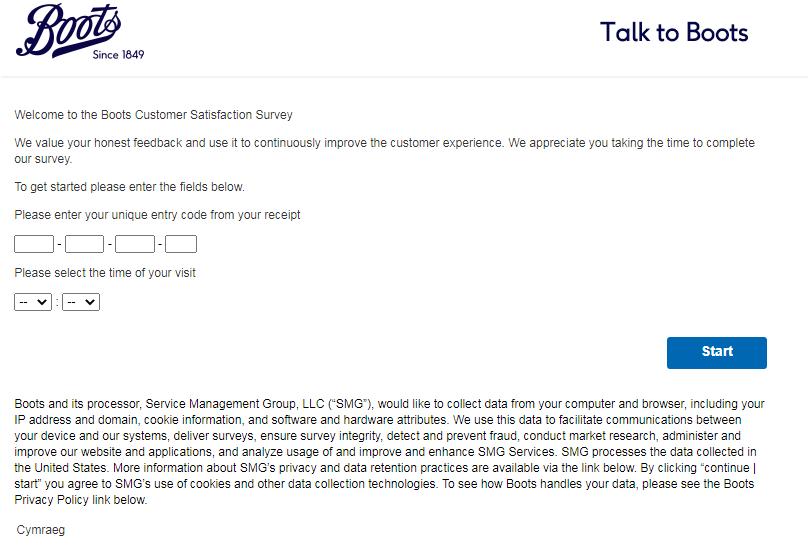Talktoboots Customer Experience Survey 2020