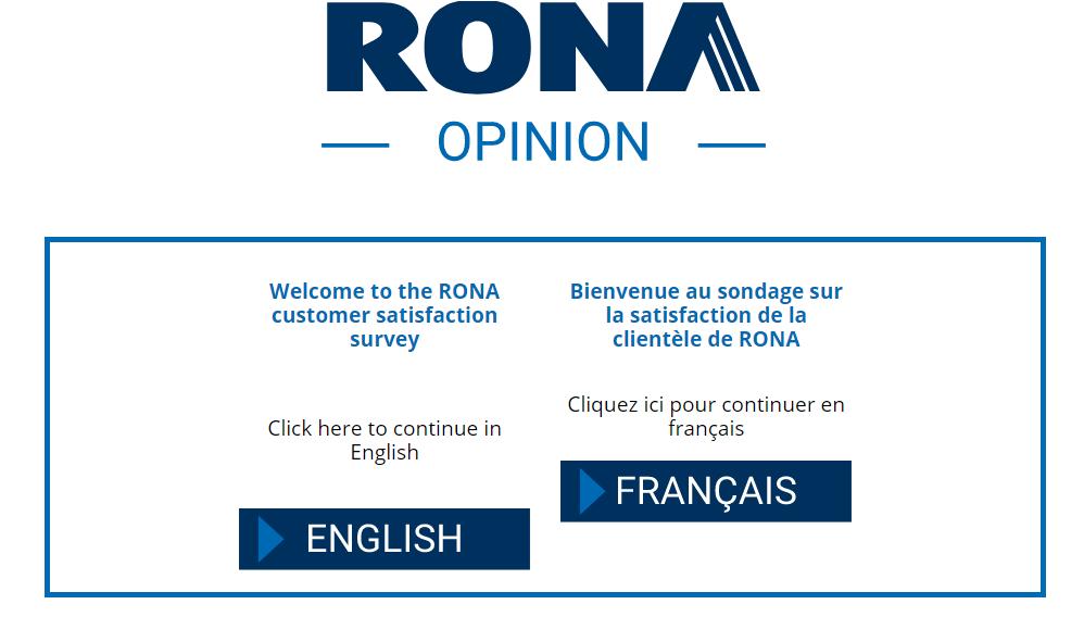 RONA Customer Satisfaction Survey Contest