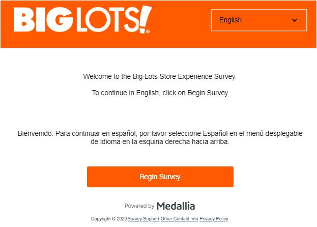 Biglotssurvey Homepage